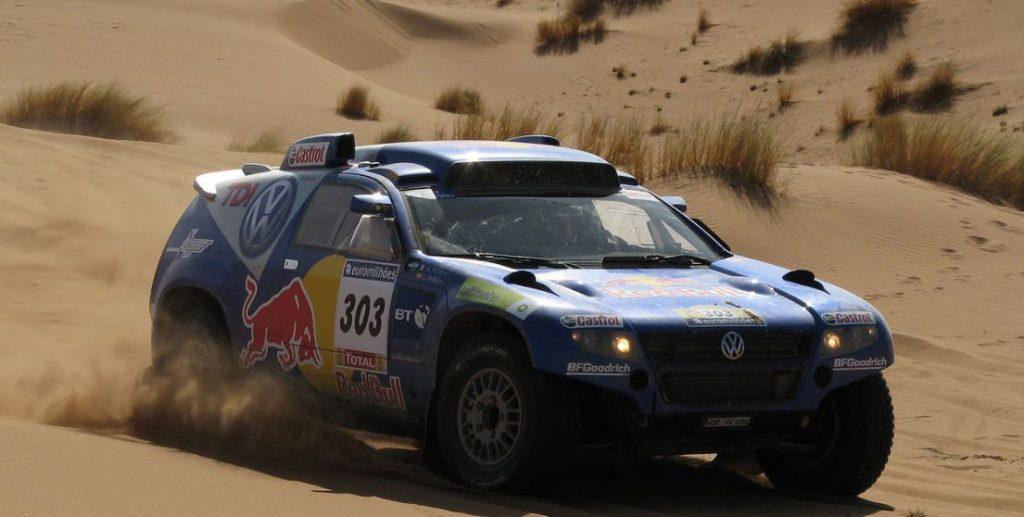 Sainz Dakar rallissa